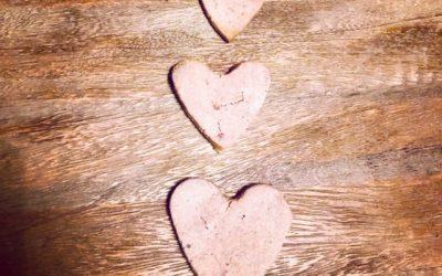Valentines Doggy Biscuits